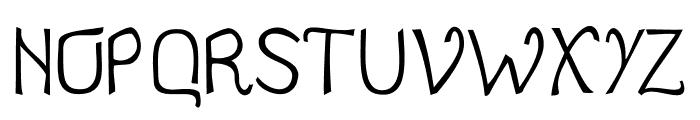 Jale Font UPPERCASE