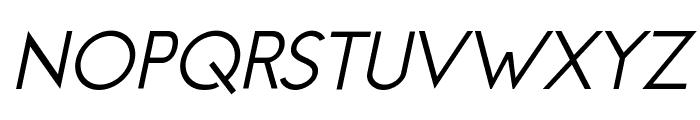 Jambetica-Italic Font UPPERCASE