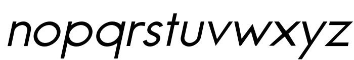 Jambetica-Italic Font LOWERCASE
