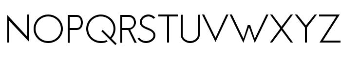 Jambetica-Light Font UPPERCASE