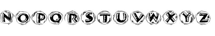 JamboRound Font LOWERCASE