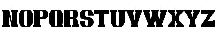 Jambon Font UPPERCASE
