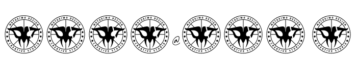 JamesBlack Font OTHER CHARS