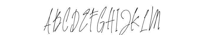 JamesBlack Font UPPERCASE