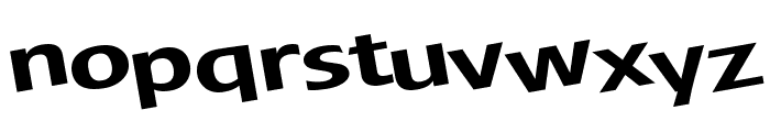 JamesBond Font LOWERCASE