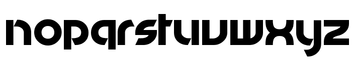 Jammed Toaster Font LOWERCASE