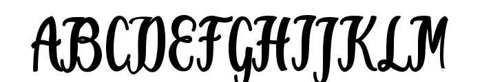 Jammes Font UPPERCASE