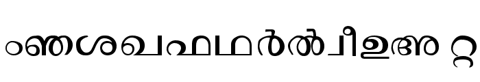 Janaranjani Regular Font UPPERCASE