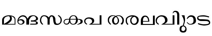 Janaranjani Regular Font LOWERCASE