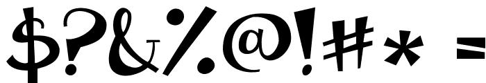 Janda Apple Cobbler Solid Font OTHER CHARS