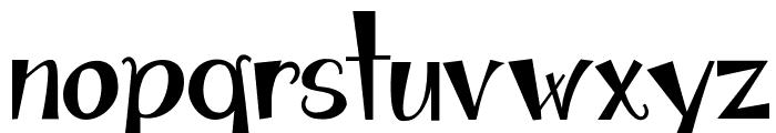 Janda Apple Cobbler Solid Font LOWERCASE
