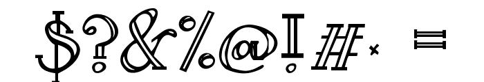 Janda Curlygirl Serif Font OTHER CHARS