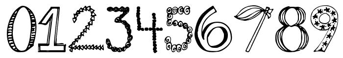 Janda Fabulous Font OTHER CHARS