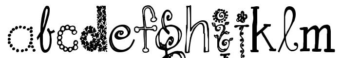 Janda Fabulous Font LOWERCASE