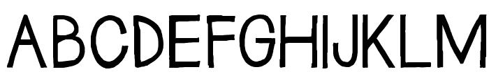 Janda Safe and Sound Solid Font UPPERCASE