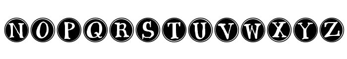 Janda Siesta Sunrise Font UPPERCASE