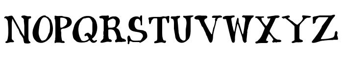 Janda Siesta Sunset Font UPPERCASE