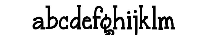 Janda Snickerdoodle Serif Bold Font LOWERCASE