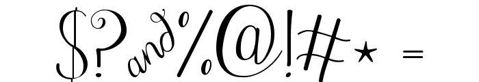 Janda Stylish Script Font OTHER CHARS