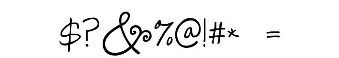 Janda Swirlygirl Font OTHER CHARS