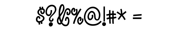 Jandles Font OTHER CHARS