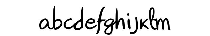 Janepix Handwriting Font LOWERCASE