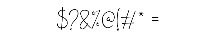 JanesvilleScript Font OTHER CHARS