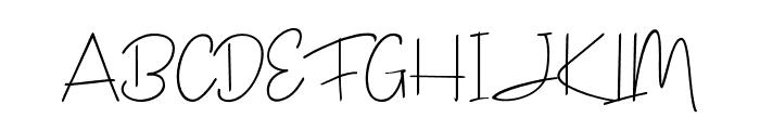 JanesvilleScript Font UPPERCASE