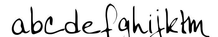 Janet Regular Font LOWERCASE