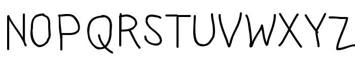 Jangan Bersedih Font UPPERCASE