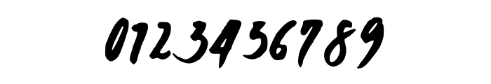 JaniceHandBold Font OTHER CHARS