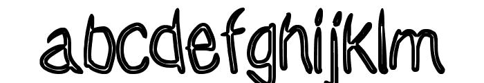Janky Font LOWERCASE