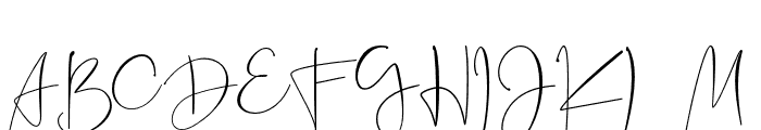 Jannet Font UPPERCASE