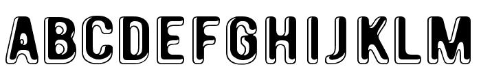 January Threed Font LOWERCASE