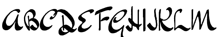 Japanese Tourist Font UPPERCASE