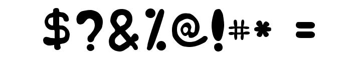 Japestyle Plain Font OTHER CHARS