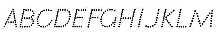 Jardotty Font UPPERCASE