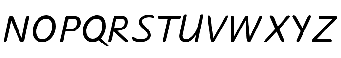 Jarman Font UPPERCASE