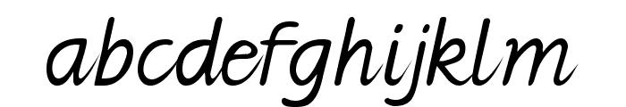 Jarman Font LOWERCASE