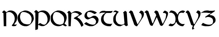 Jarrow Font UPPERCASE