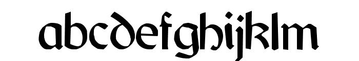 Jarrow Font LOWERCASE