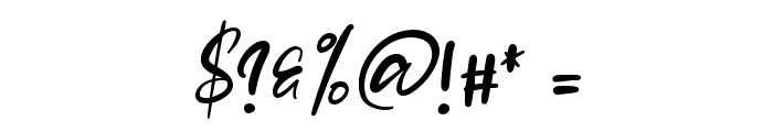 Jasmine Daily Font OTHER CHARS