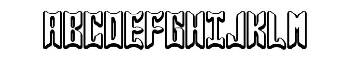 Jasper BRK Font UPPERCASE