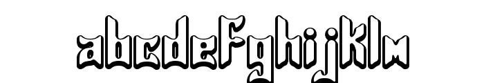 Jasper BRK Font LOWERCASE