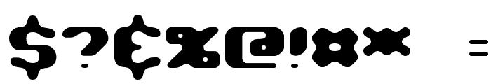 Jawbreaker BRK Font OTHER CHARS