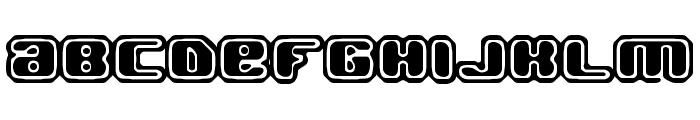 Jawbreaker OL2 BRK Font LOWERCASE