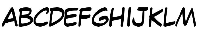 Jaws Comic Pro JY Font UPPERCASE