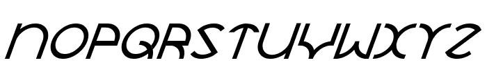 JaySetch Italic Font UPPERCASE