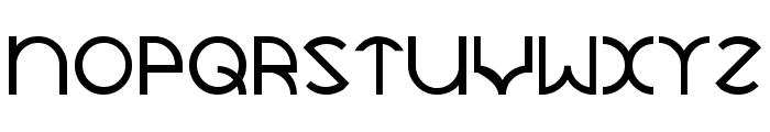 JaySetch Font UPPERCASE