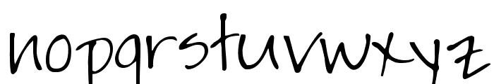 JaynePrintYOFF Font LOWERCASE